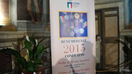 Benemerenze CONI 2015 - Viterbo